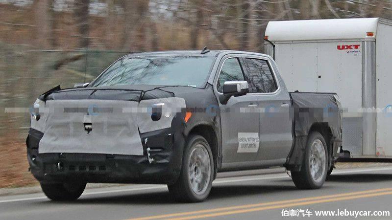 2022 GMC Sierra 1500 Denali拖放测试间谍照片曝光或2021年上市