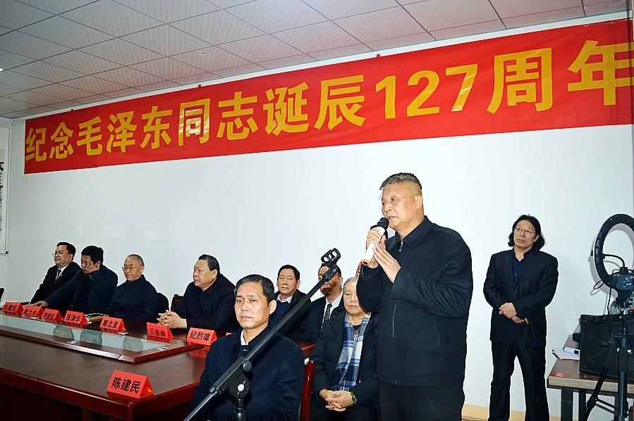 纪念毛泽东同志诞辰127周年书画展在石家庄举行