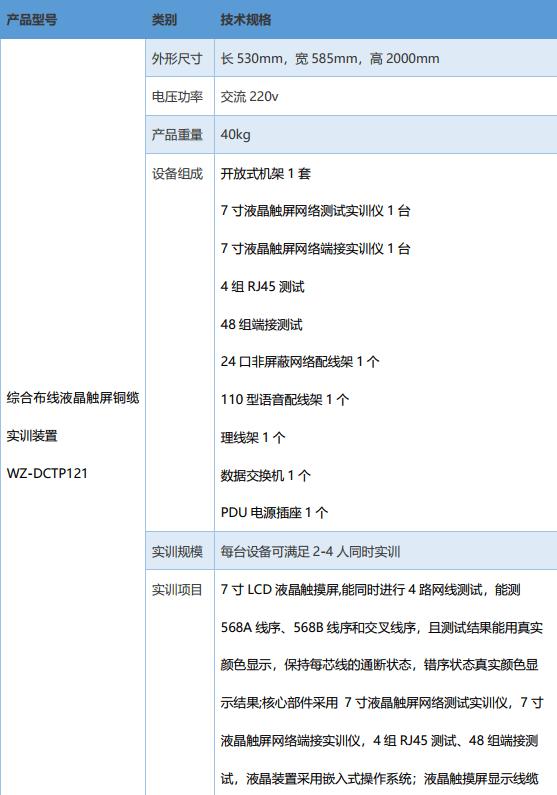 """综合布线液晶触屏铜缆实训装置""""爱游戏体育官网""""(图2)"""
