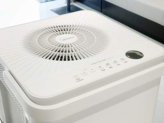 家电要好用、更要美!美的小方物除湿机开箱记