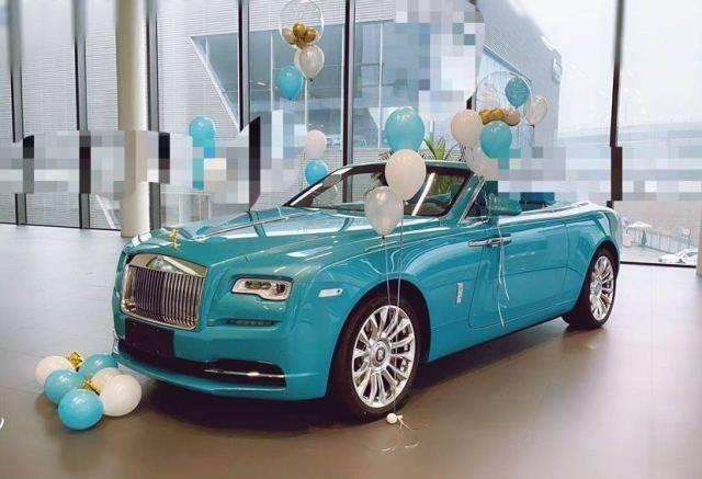 2020劳斯莱斯魅影新豪车是家喻户晓的名字