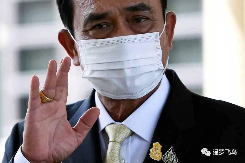 """面对疫情的蔓延,泰国总理巴渝大喊:""""呆在家里""""""""我不想封国。"""""""