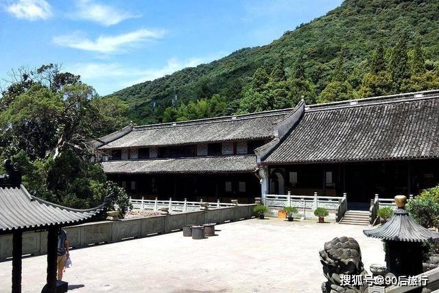浙江又一寺庙走红,始建于西晋时期,距今已有千年历史,门票免费