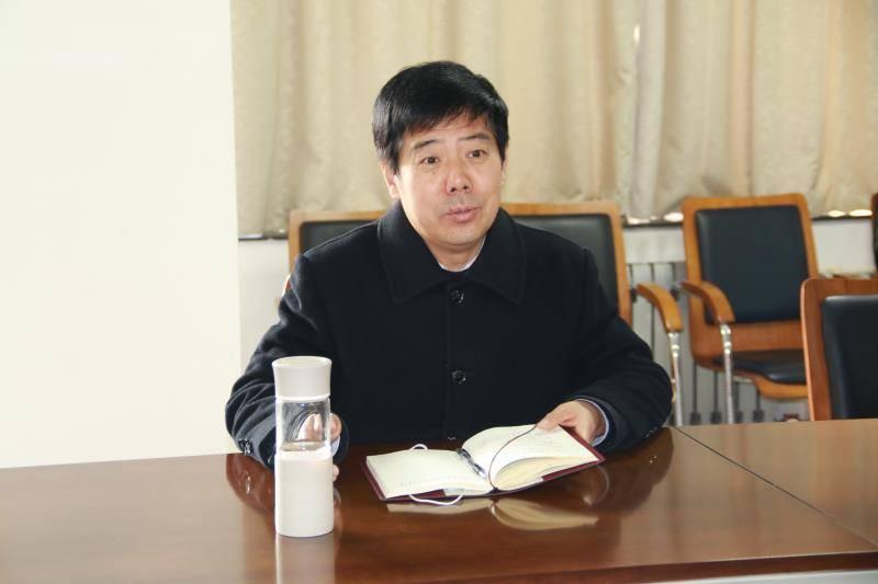 濮阳市第八中学迎来南乐县考察团  第4张