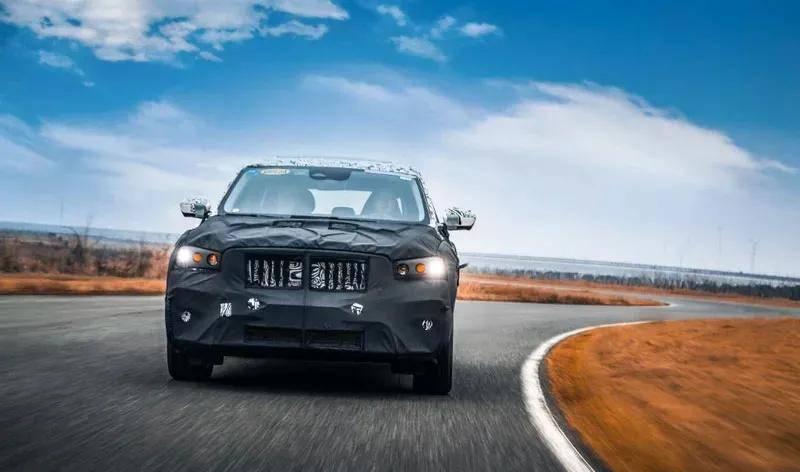 原装吉利全新大7座SUV!1米三屏,换壳用的是XC90吗?