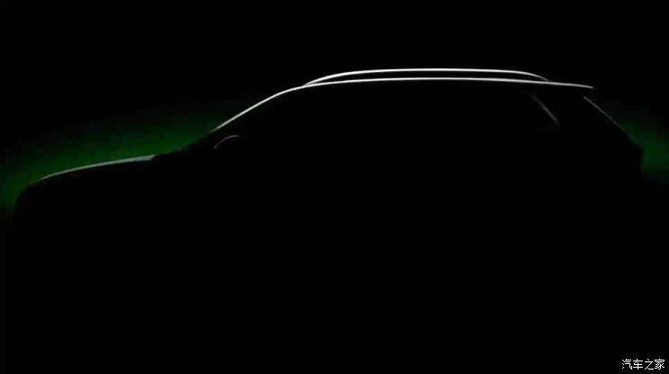 原印度特价!新车命名为库夏克斯柯达发布了小型跨境SUV的预览