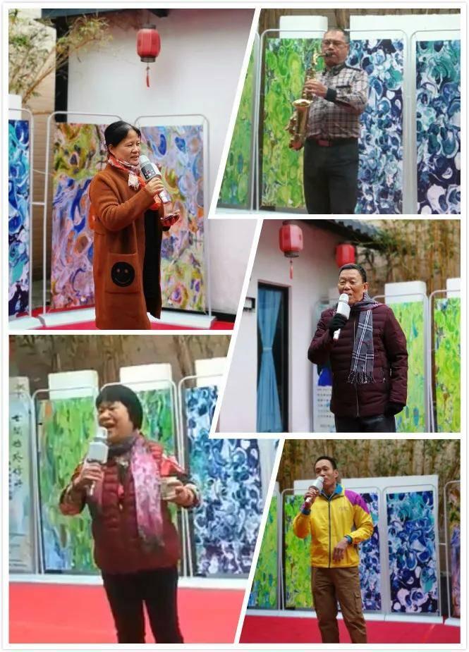 世间始终你好·施维油画作品展在广东中山榄边拉开帷幕