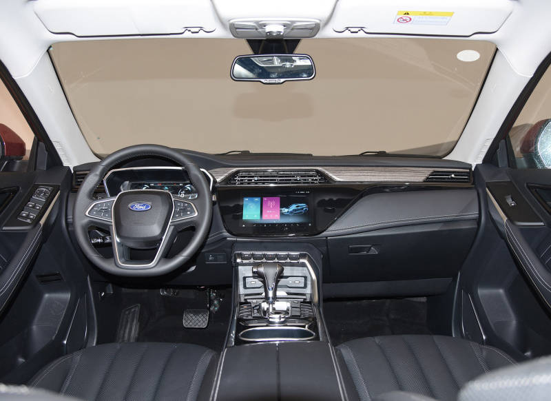 新款福特领界谍照曝光,换装旋钮式换挡是亮点,科技感又提升了