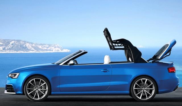 最初的V8自吸RS5敞篷版当年卖了139万,现在便宜卖了45万