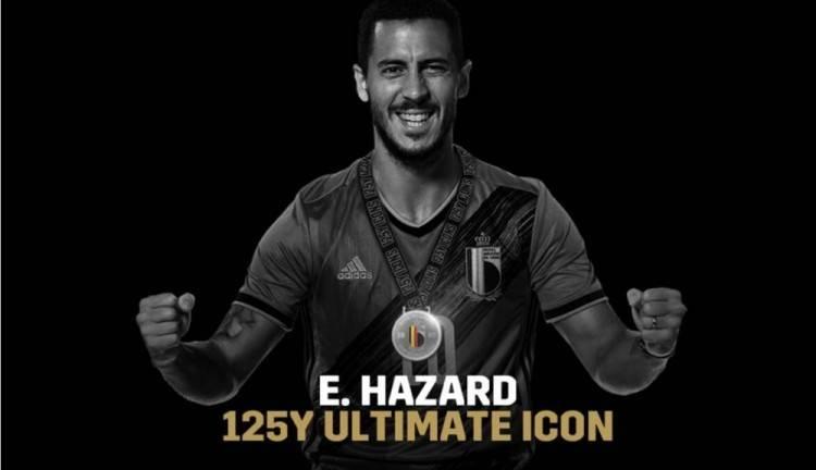 官方:阿扎尔当选比利时125年队史最佳偶像