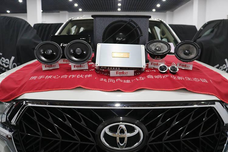 遵义丰田酷路泽不想毁了它,所以改装的车音响效果真的很好