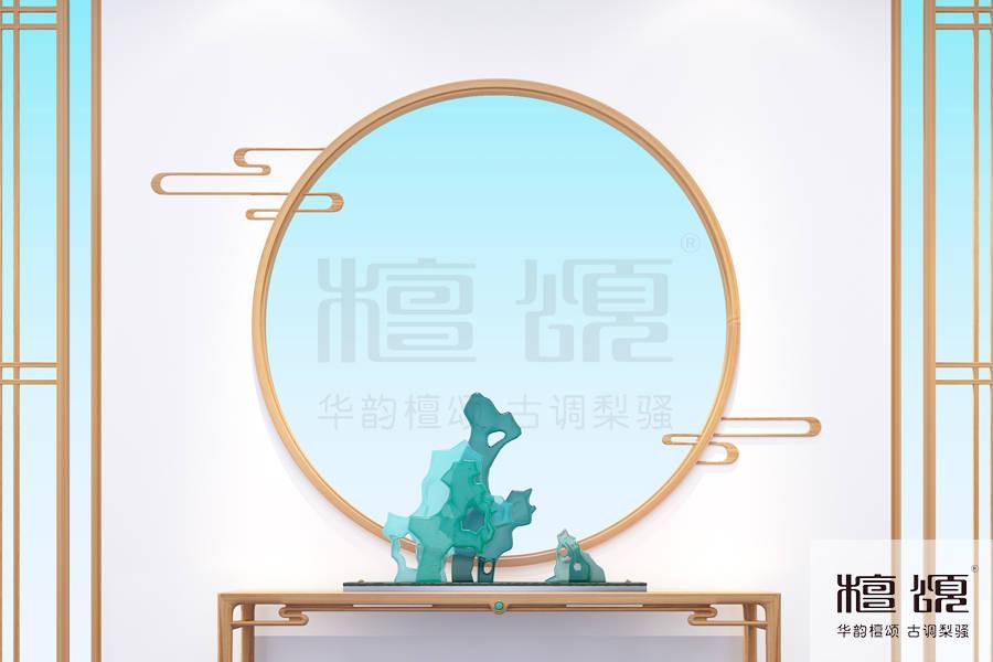 十大新中式家具品牌檀颂:观云逐月·回归本心可这般洒脱,新中式风格装修图片