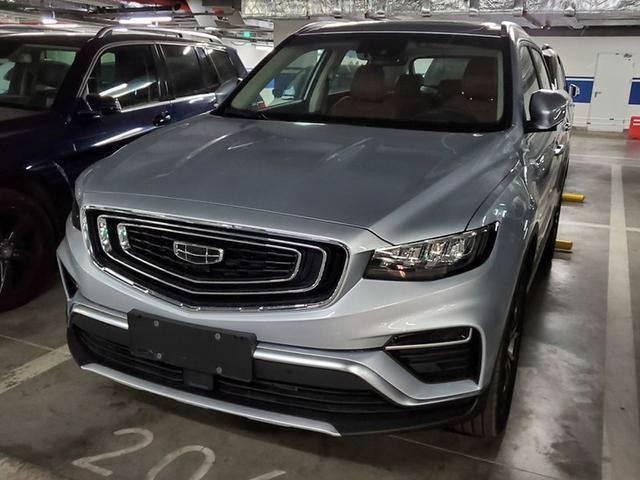 原吉利新SUV车库实拍,预计年内上市
