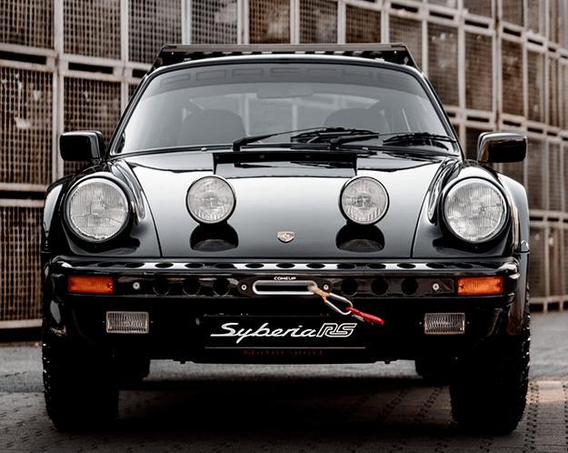 你愿意开着它越野吗?国外网友改装的越野保时捷911 Carrera