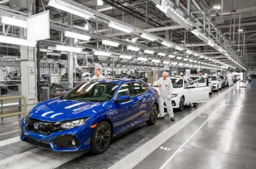 最初,由于半导体零件供应的延迟,本田汽车的斯温顿工厂再次停止工作