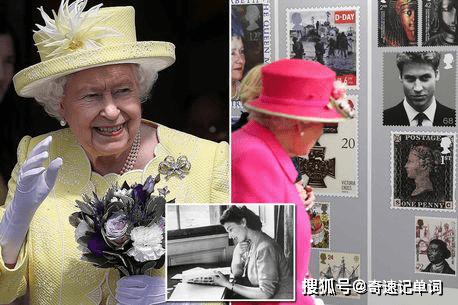 高二英语阅读考题——英国女王爱集邮总价值高