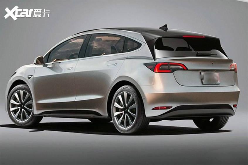 原厂特斯拉国产新车最新效果图将于明年投产