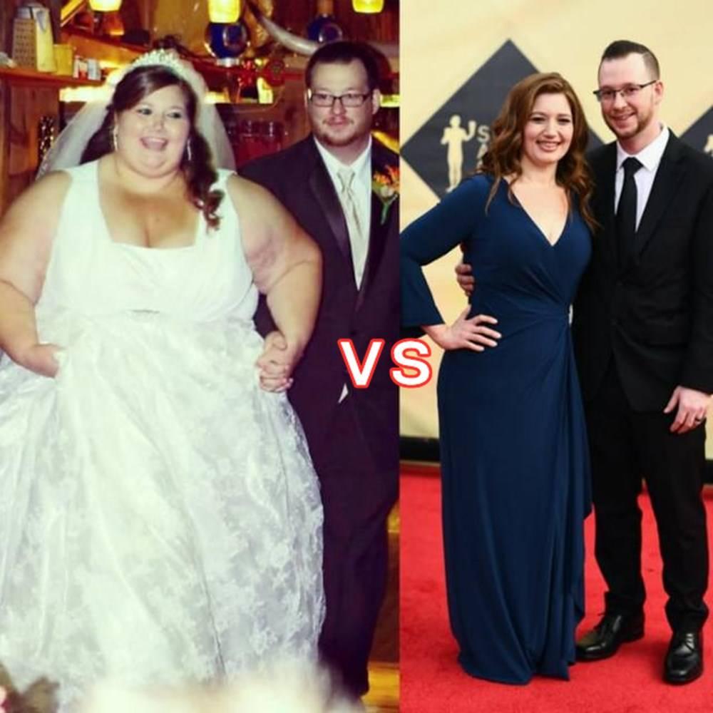 超重夫妻为备孕减肥,一年半后堪比整容,为了要宝宝也是拼了