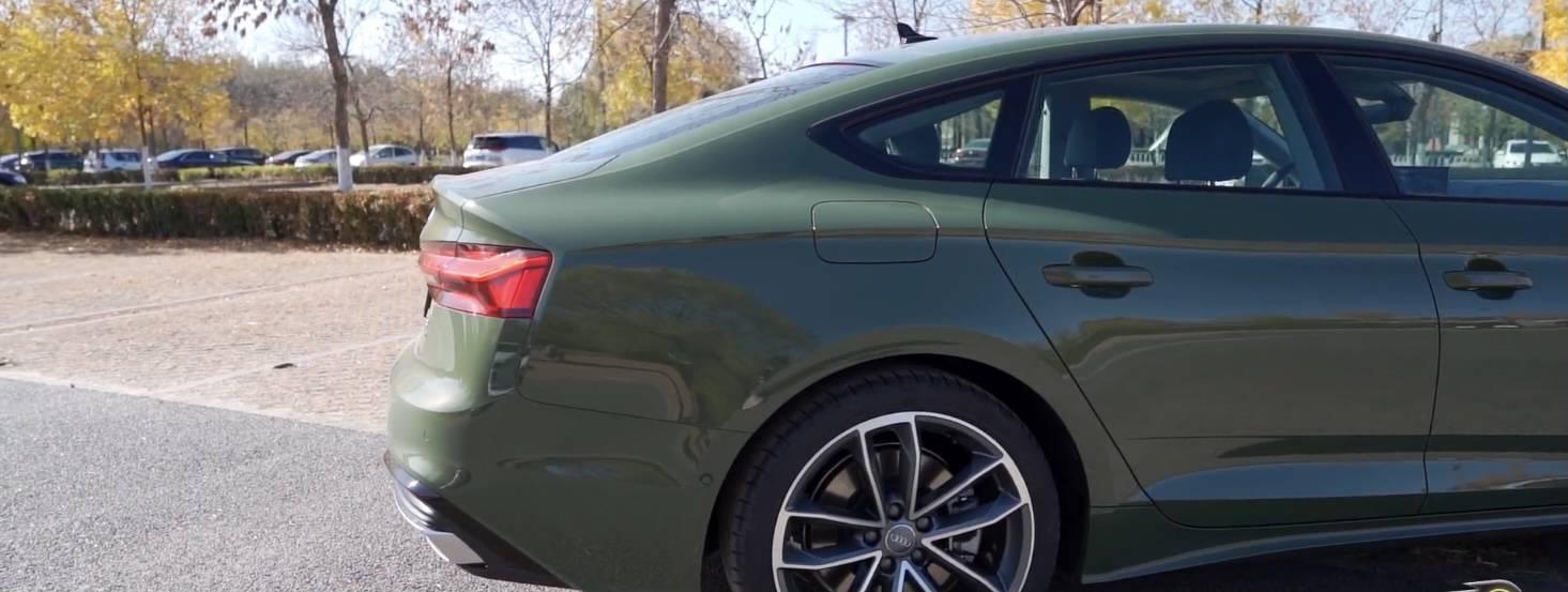 新奥迪A5疯了,中期改款会炫眼睛,同档次车型会抖!
