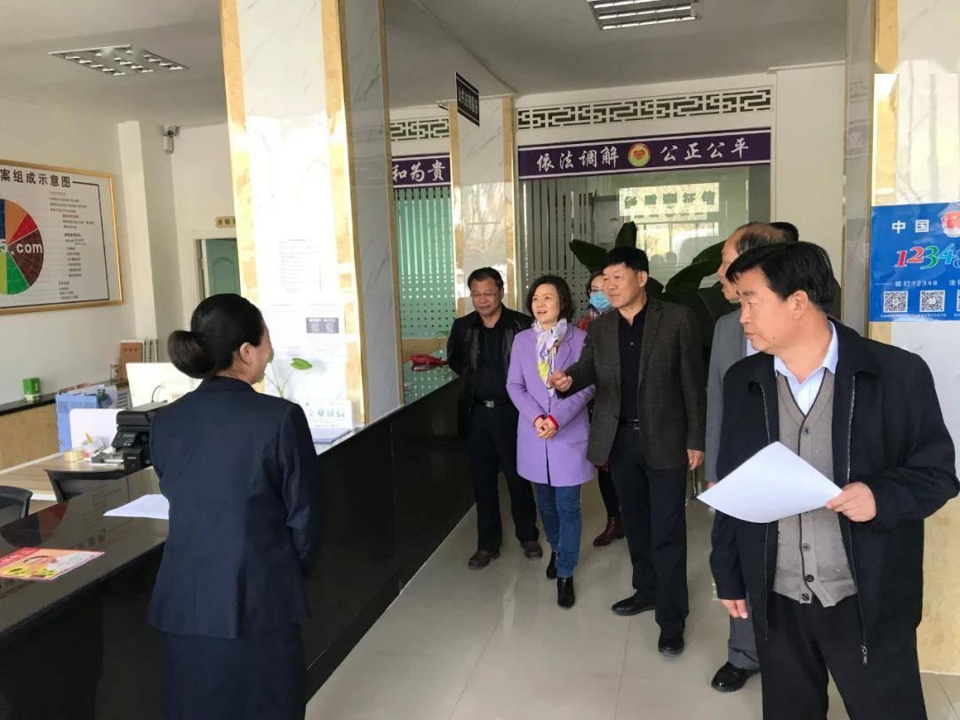 肅州區企業信用糾紛人民調解委員會依托綠盾征信系統服務民企