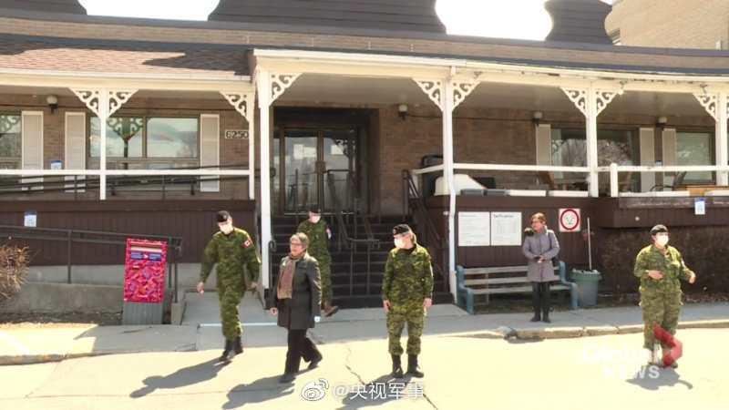 加拿大派出1675名军人支援养老院,已有28人感染