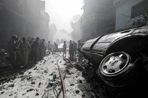 至少5名巴基斯坦军官,在坠机事故中身亡
