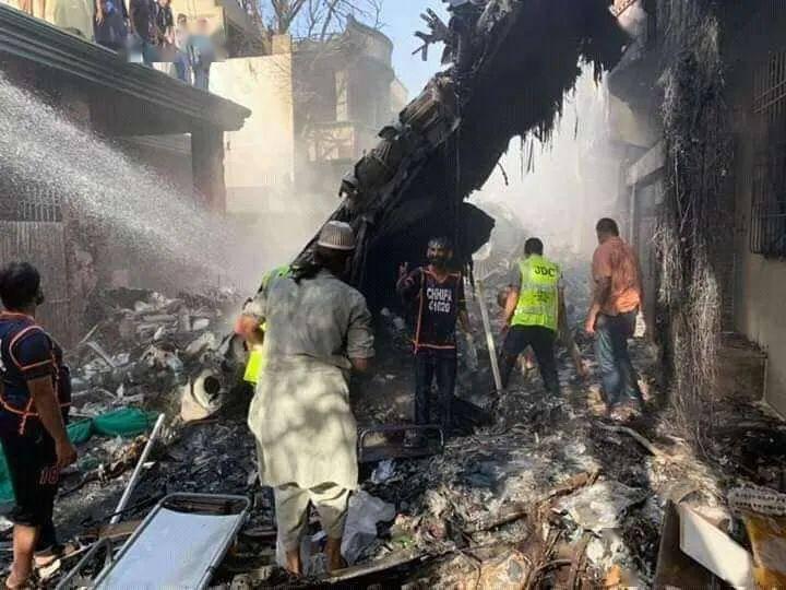 巴基斯坦坠机飞行员最后录音