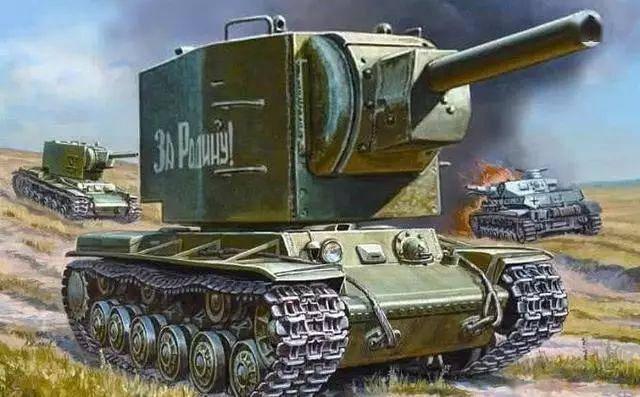 最著名的重型坦克?这款坦克虽然丑,确曾一辆挡住