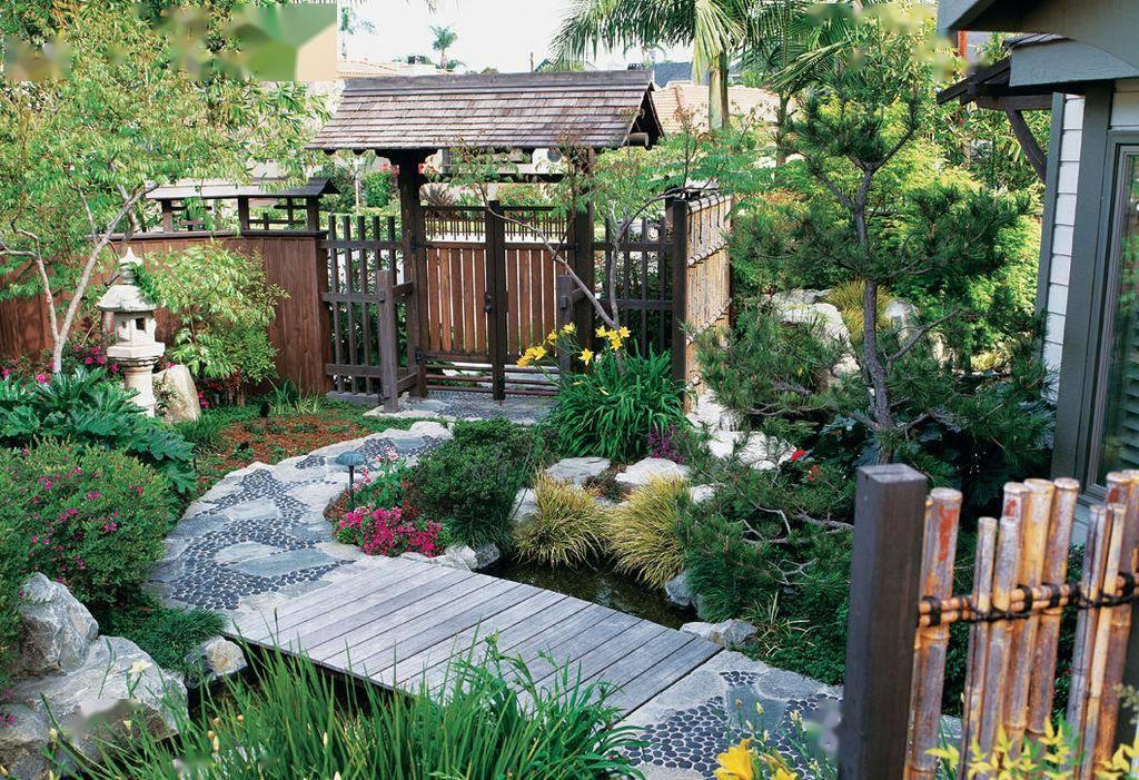 别墅雅致主义风格庭院设计图