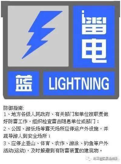 北京雷电蓝色预警 似有万道霞光!