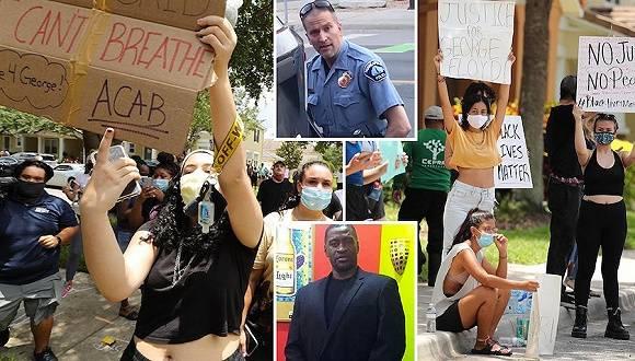 美暴力执法警察被控三级谋杀和过失杀人,民众怒火烧到了白宫门口