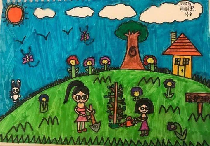 获奖名单出炉 佛山市中小学生 我的绿色家园 绘画活动评选结果来了