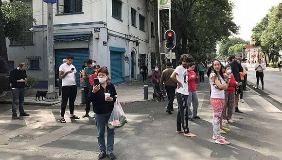 墨西哥南部发生7.4级地震,首都震感明显