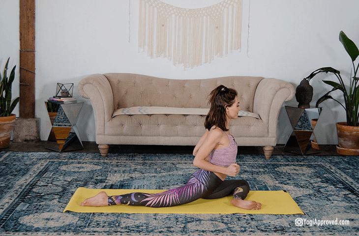 人老腿先衰?9个加强双腿力量的瑜伽体式,一定要常练! 初级健身 第7张