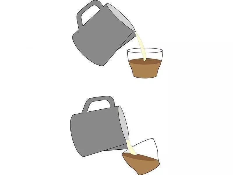 咖啡拉花的时机和原理 | 杯口宽窄、注入高低角度都有影响! 防坑必看 第2张
