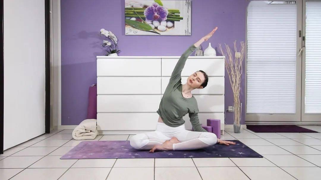 """""""筋长一寸寿延十年"""",10个拉伸瑜伽体式在家练,超舒服!_身体 高级健身 第4张"""