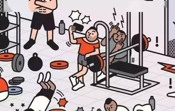 女生占器械被男生暴打,引网友争议!! 锻炼方法 第22张