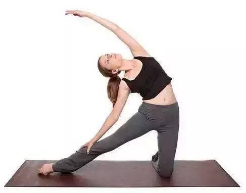 瑜伽体式,伸展肋间肌的门闩式 减肥窍门 第1张