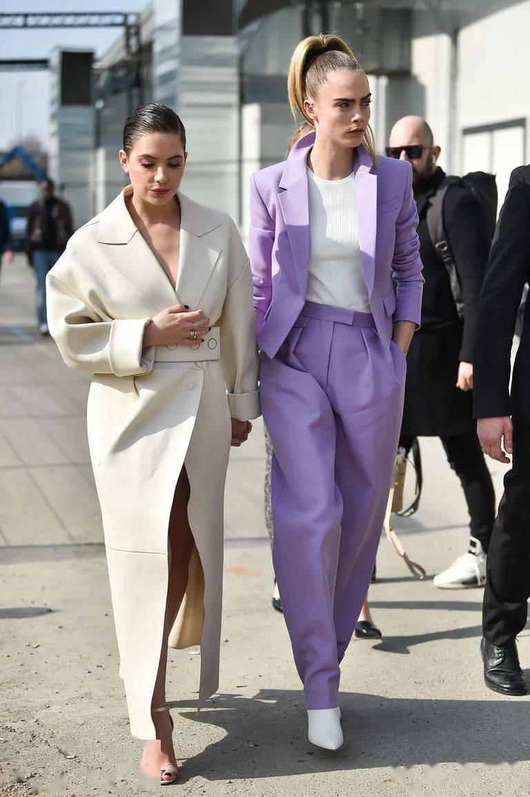 """紫色系高级穿搭攻略,太迷人,""""紫控""""们有福了!!"""