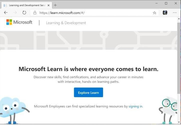 微软Microsoft Learning 网站内容迁移到 Microsoft Learn