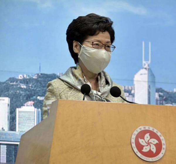 林郑月娥回应美国制裁措施:任何制裁都不会吓怕我们