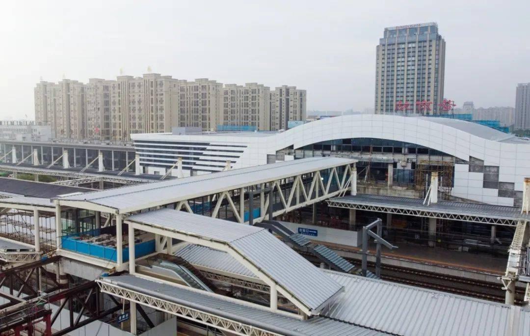 看,苍南动车站天桥!
