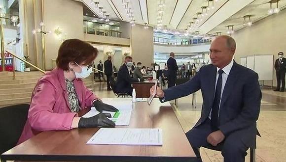 俄超78%选民支持修宪,普京有望执政至2036年
