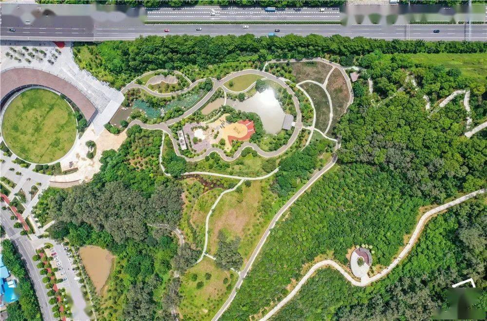 靓!佛山三龙湾3大公园陆续开放,总面积超千灯湖公园