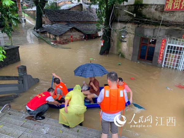暴雨致景德镇昌江区近9万人受灾应急防汛储备资金紧急下拨