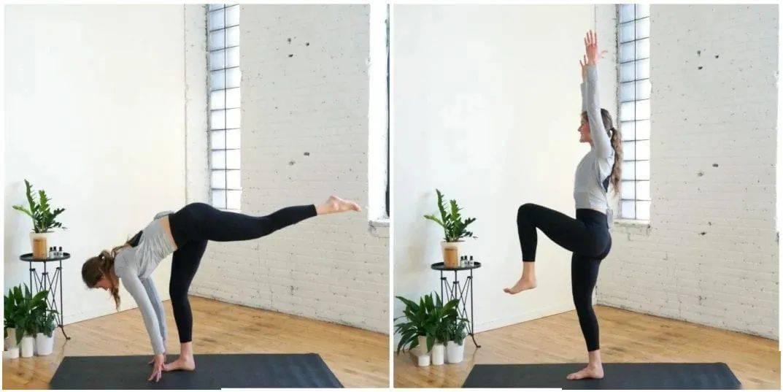 一套适合初学者在家练习的流瑜伽串联,疏通经络,排毒减肥