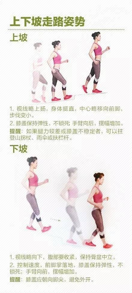 【科普】掌握这些姿势,走路就是最好的锻炼!