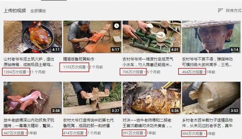 中国大爷成油管网红,上千万人点赞:不输李子柒!