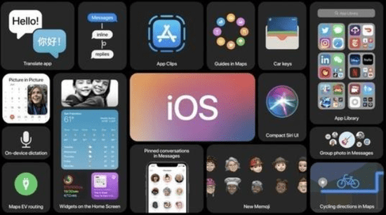 苹果放出第二个测试版IOS 14