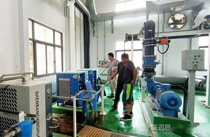 新技术新设备装备新水厂海岛供水再上新
